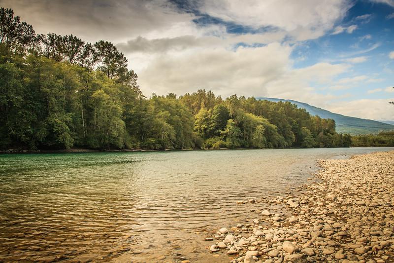 Skagit River at Howard Miller Steelhead Park