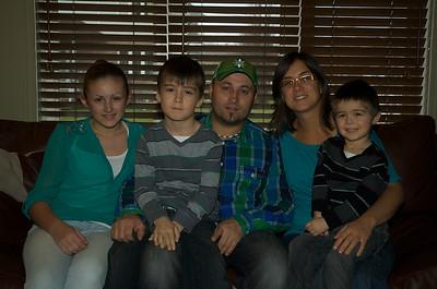 Famille au deux fils Berthiaume 2012