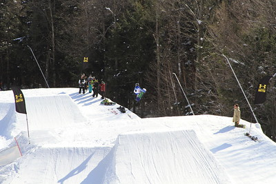 2/10/2013 Slopestyle Competition at Whiteface Mountain