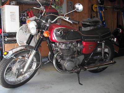 1969 CB450