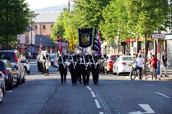 Sandy Row District No 5 Somme Memorial Parade