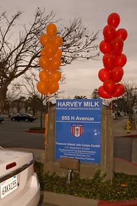 Milk Memorial Building dedication at Job Corp, November 25, 2008