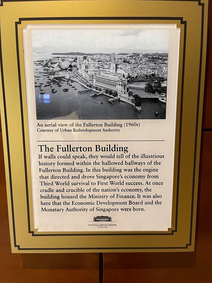The Fullerton Hotel is full of history
