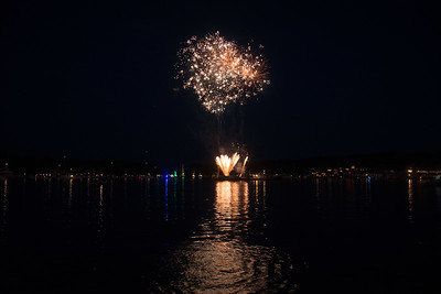 Venetian Boats-Fireworks 2015