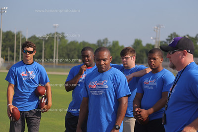 Richard Howell 2015 football camp