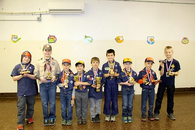 2016 - Pack 31 Pinewood Derby