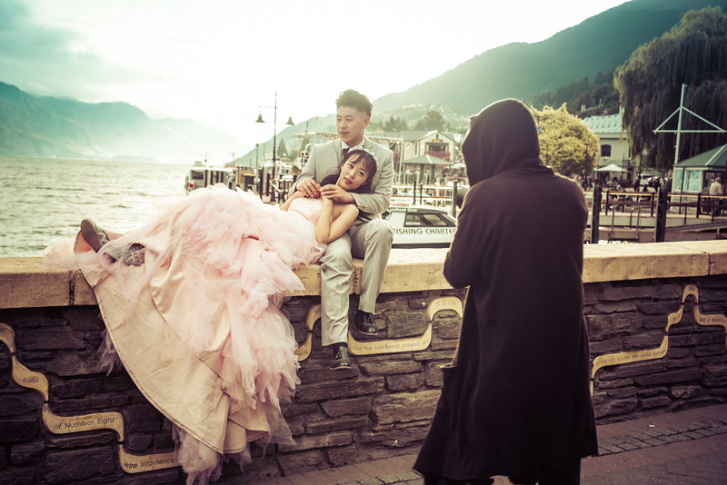 Chinese Wedding Photographers In Queenstown, New Zealand