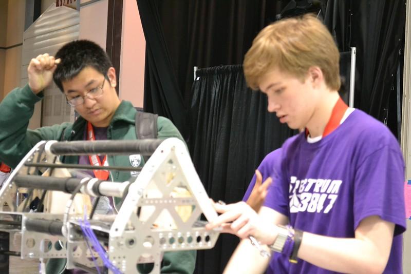 2016 FIRST Bayou Regional Robotics - Spectrum 3847 - 963