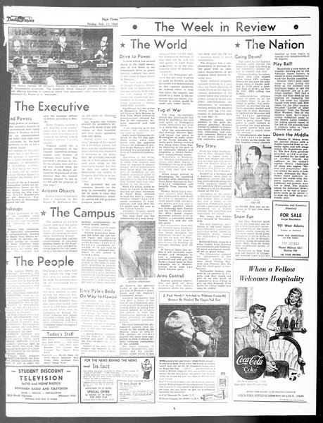 Daily Trojan, Vol. 40, No. 77, February 11, 1949