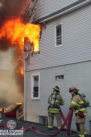 5 Alarm Structure Fire - 46 Alden St, Stamford, CT - 9/25/17