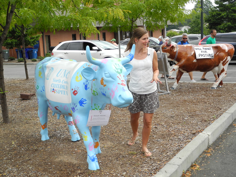 Round Up Event, CowParade North Carolina