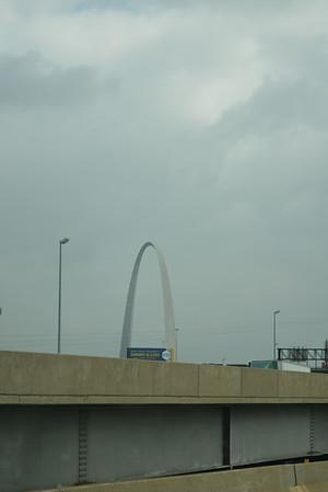 Day 24  - Sunday, August 10th – Missouri to Kentucky