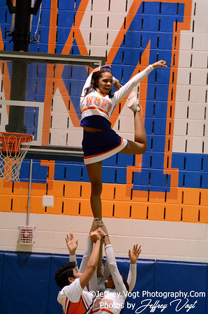 02-16-2013 Watkins Mill HS Cheerleading and Poms, Photos by Jeffrey Vogt Photography
