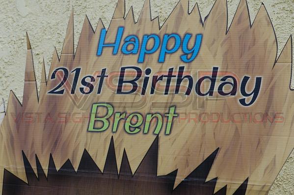 Brent's 21st Birthday