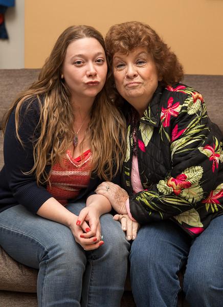 Mam and Danielle on Couch Christmas Eve.jpg