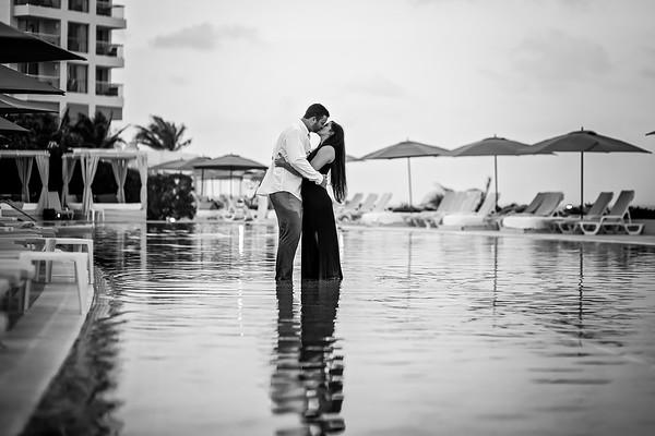 Cancun 2017 Kate & Jake Engaged