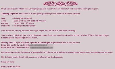 2007-0120 SCBG & SCBM 20 jaar feest