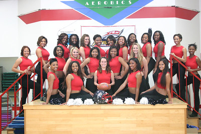 Greensboro Revolution Cheerleaders, the Revolettes 2007