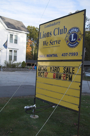 Lions Yard Sale Preview October 2009