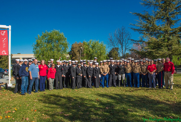 2015 LNMSC Christmas Lunch for Sailors, Marines