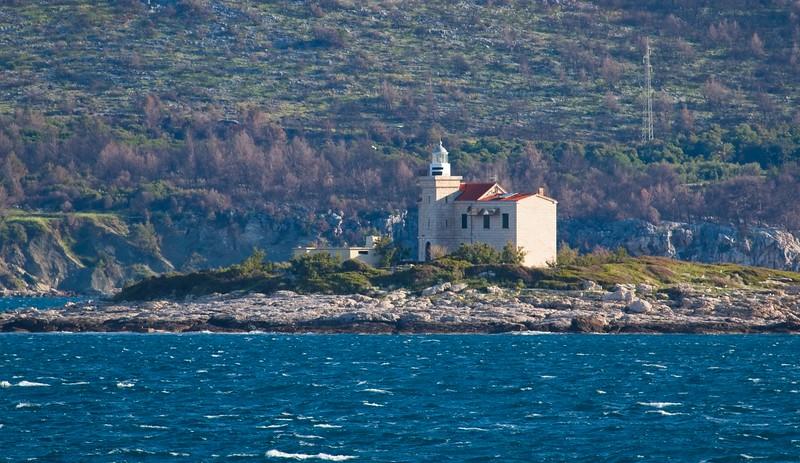 Sestrica vela (Korcula) Lighthouse
