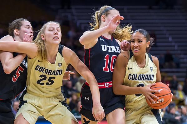 PAC12-Women's Basketball-CU vs Utah-20181230
