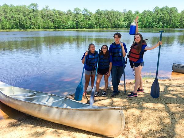 8th Grade Canoe Trip 2016