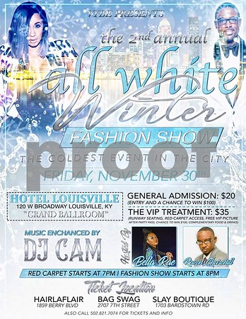 2ND ANNUAL ALL WHITE WINTER FASHION SHOW 11-30-18