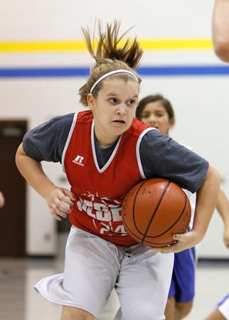 SNMS Girls Basketball 2013-2014