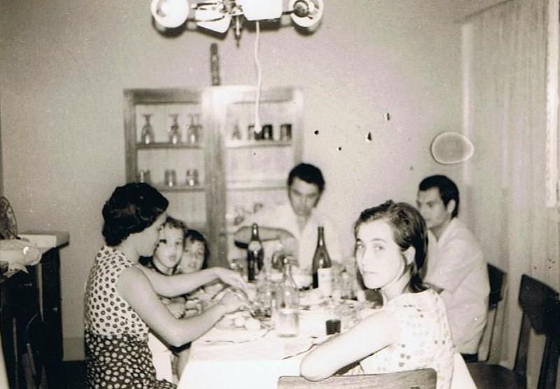 Andrada, 1973 Carmen, a Manela, Antonio Nacimento, Rodrigues e filhos
