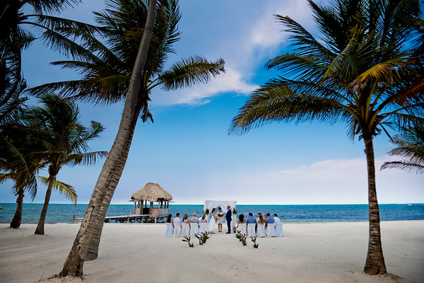 Melanie & Casey - Wedding - Belize - 22nd of May 2017