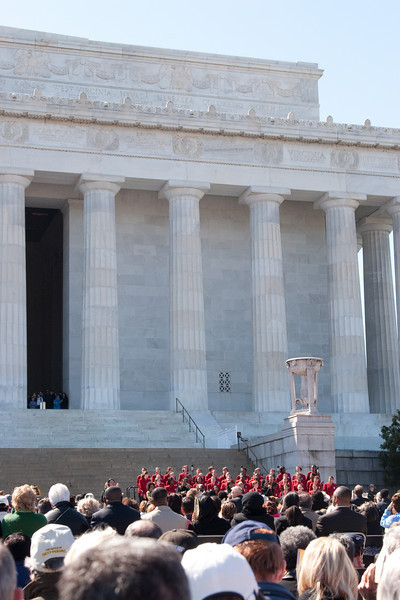 Sweet Honey in the Rock with the Chicago Children's Choir -- Marian Anderson Tribute Concert, Easter Sunday 2009 featuring Denyce Graves (commemorating Easter Sunday 1939) at the Lincoln Memorial