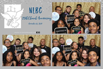 New Life Body of Christ Christian Church (Mini LED Open Air Photo Booth)