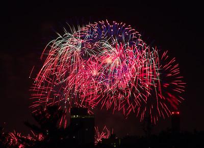 Boston fireworks July 4, 2018