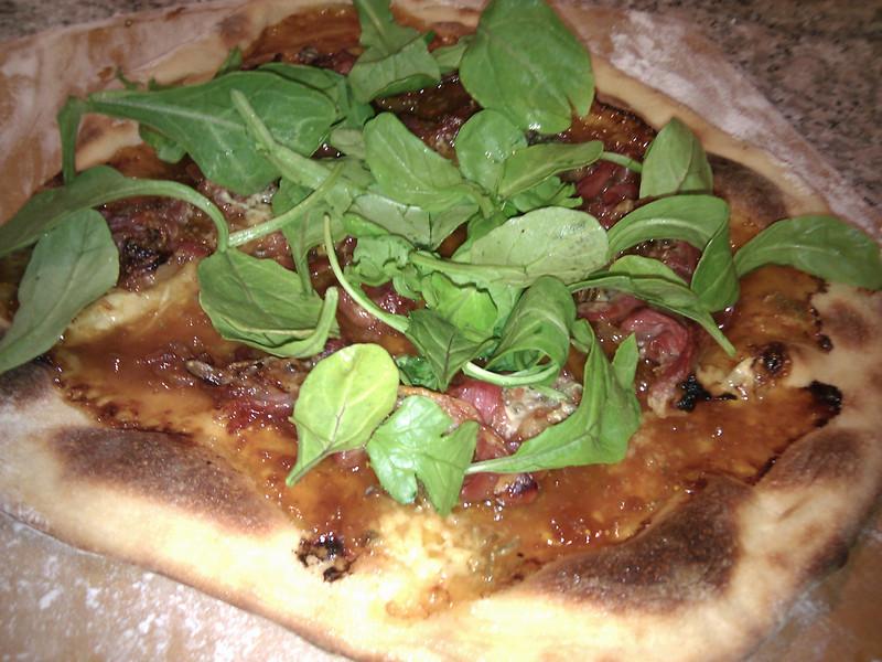 Home Made - Fig Prosciutto Pizza