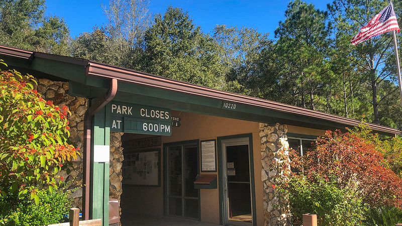 Park office at Flatwoods Park