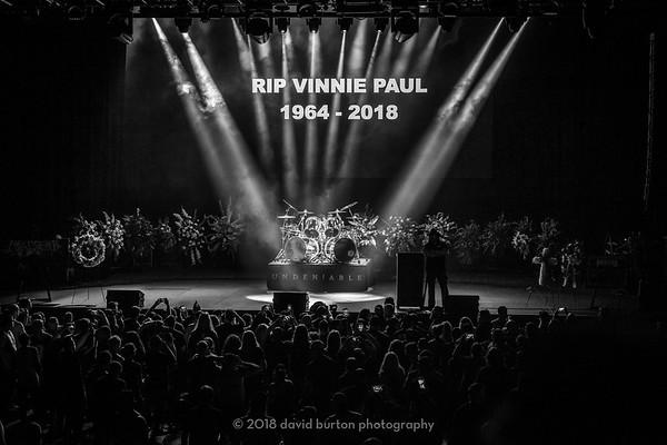 VINNIE PAUL MEMORIAL 2018