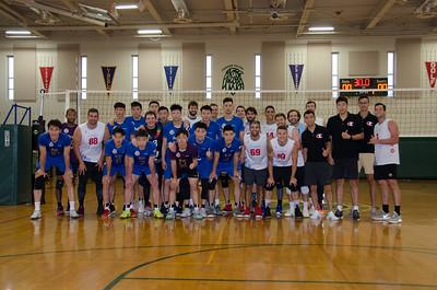 Shanghai Men's Vollyball Team Visit 2019