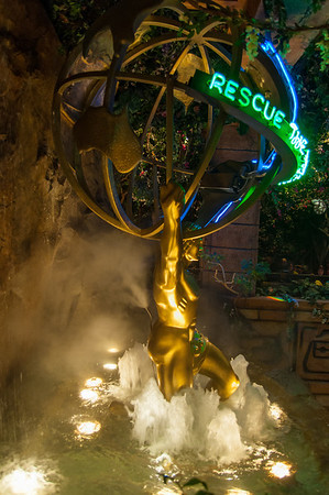 KOST-FM Holiday Party at Disney California Aventure