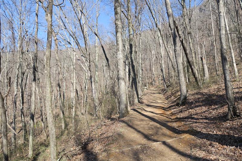 Ewing Trail - 2,300'