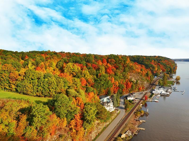 hudson valley fall new york