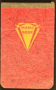 Gammon & Sunshine Hunting Journal 1938