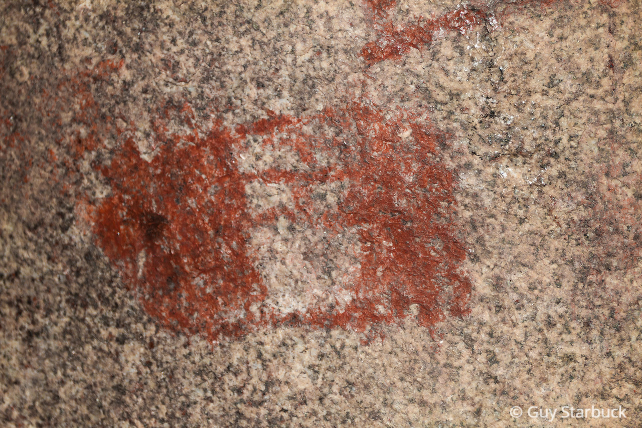 """Hidden Indian Cave"" Pictographs"