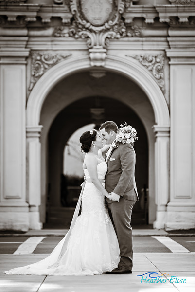 Lisa + Brad | Balboa Park Wedding | San Diego Wedding Photographer