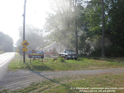 Lehigh County - Washington Twp. - Working Garage Fire - 7/7/2010