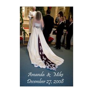 Christmas Wedding Amanda