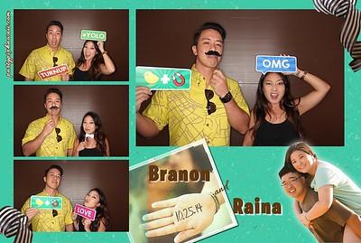 Branon & Raina's Wedding (Luxury Photo Pod)