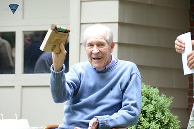US Navy Captain Thomas Hudner 92nd Birthday - MSP Escort - 083116