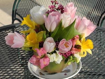 Danya's Baby Shower Flower Arrangements