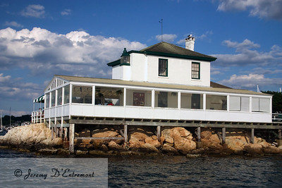 Lime Rock Light (Ida Lewis Yacht Club)